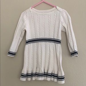 Sweater dress for lil girls